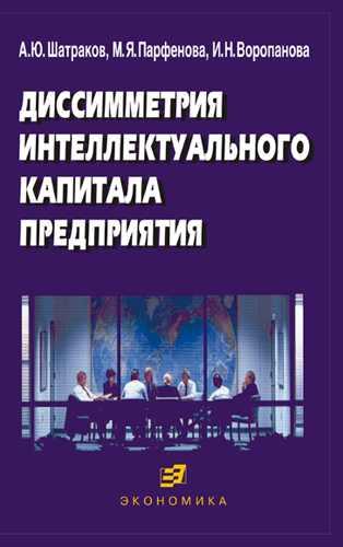 Шатраков А.Ю Диссимметрия интеллектуального капитала предприятия